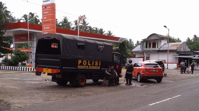 Polisi Masih Disiagakan di SPBU Tadoi