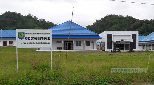 RSUD Datoe Binangkang Mulai Terima Pasien Rawat Inap
