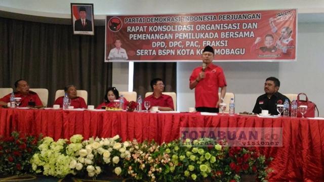 PDIP Kotamobagu Siap 'Bayar' Kekalahan di PIlkada 2013 Lalu