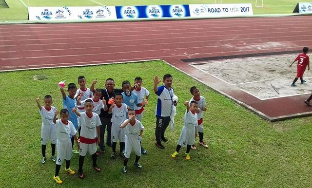 Diktra Prima FC Lolos ke Delapan Besar Danone Cup U-12