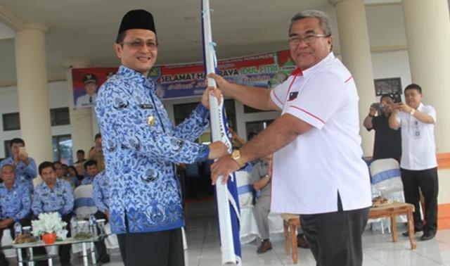 Wakil Bupati Bolmong Terima 520 Mahasiswa KKN Unima