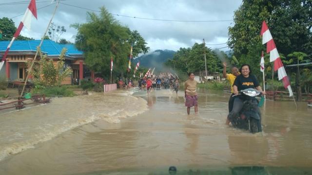 Tujuh Desa di Bolmong Terendam Banjir