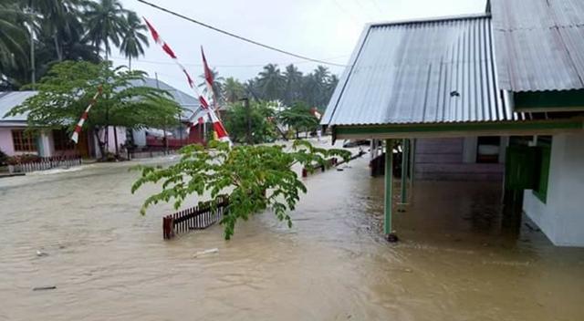 Banjir dan Tanah Longsor Terjang Kabupaten Bolsel