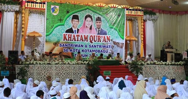 Seribu Santri di Kotamobagu Khatam Quran