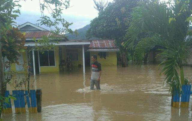 Lima Desa di Bolmong Terendam Banjir