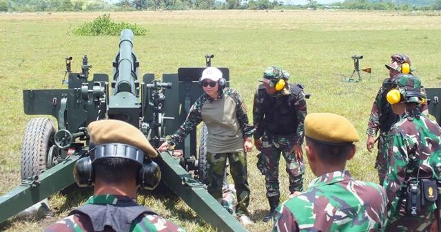 Bupati Bolmong Ikut Tradisi Korps Warga Kehormatan dan Penyematan Brevet Armed