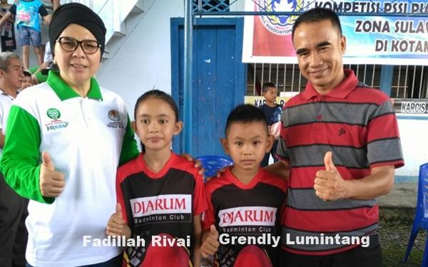 Fadillah Rivai, Atlet PB Loku Kotamobagu Dapat Beasiswa dari PB Djarum