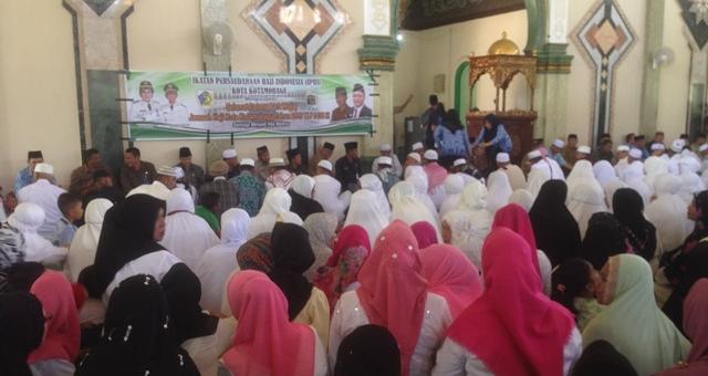Pemkot Kotamobagu Sambut 111 Jamaah Haji