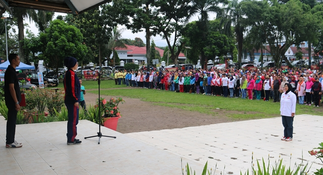 Pemkot Kotamobagu Peringati Hari Olahraga Nasional