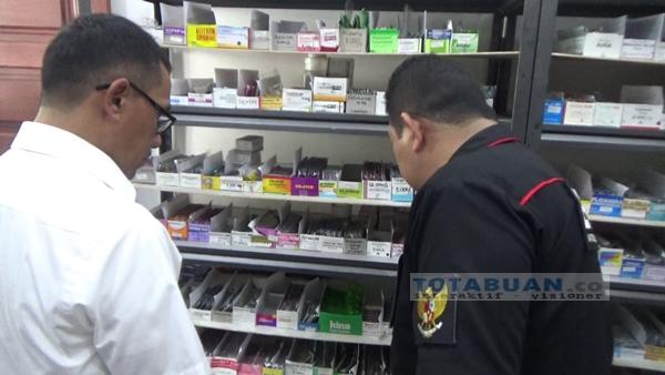 Cegah Peredaran Obat PCC, Petugas Gabungan Razia Apotek di Kotamobagu