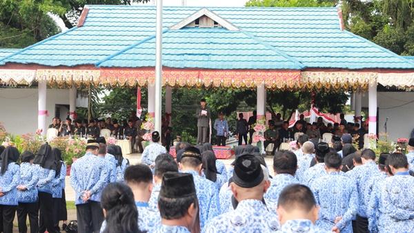 Pemkot Gelar Upacara HUT Provinsi Sulut