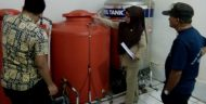 Dinkes Periksa Depot Air Minum Isi Ulang