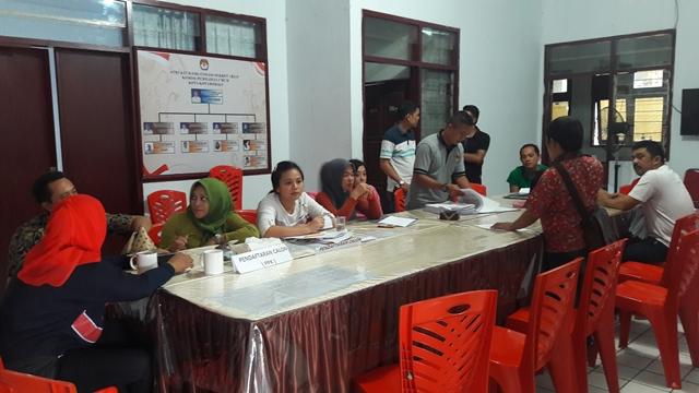KPU Kotamobagu Mulai Lakukan Penelitian Berkas 16 Parpol