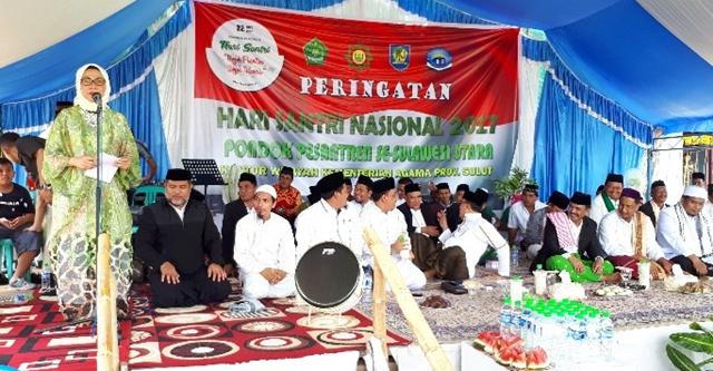 Bupati Bolmong Ingatkan Santri Tetap Perkuat Jiwa Religius dan Nasionalisme