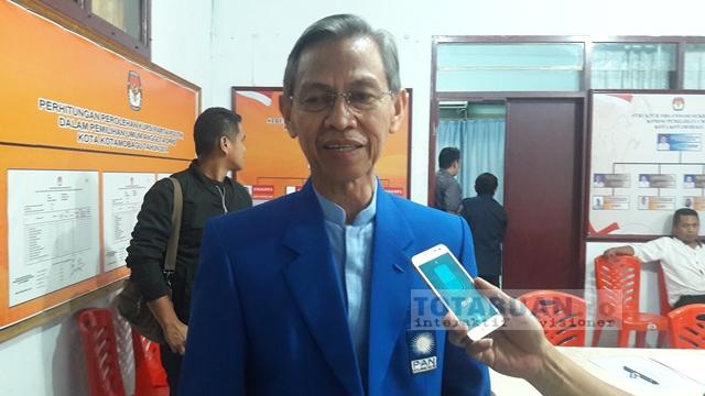 Jainuddin Optimis Dapat SK dari DPP PAN