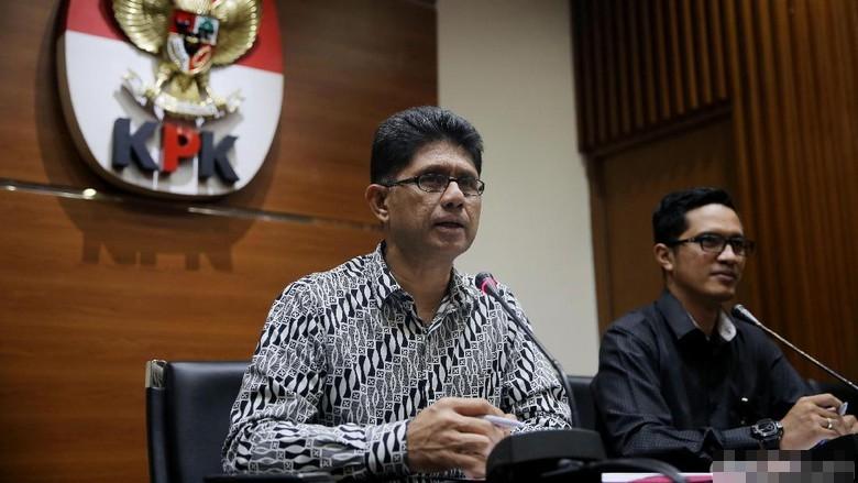 KPK Tetapkan ADM dan Ketua Pengadilan Tinggi Sulut Sebagai Tersangka