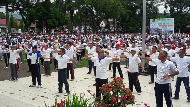 Kota Kotamobagu Pecahkan Rekor MURI Puncak HKN ke 53