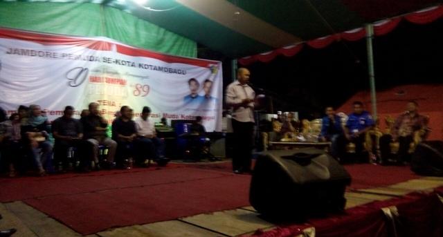 AsistenSatu Tutup Kegiatan Jambore KNPI Kotamobagu