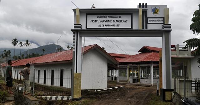 Pasar Genggulang Segera Diserahkan ke Pemkot Kotamobagu