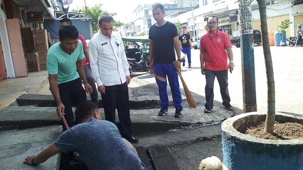 Target Raih Adipura, Sekda Kotamobagu Pantau Kondisi Kebersihan Kota