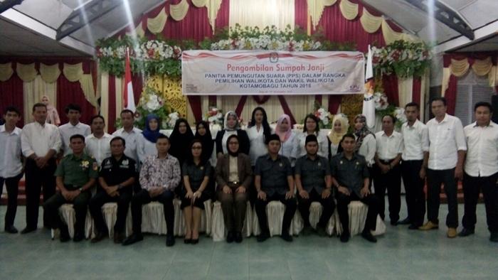 Walikota Kotamobagu Minta Anggota PPS Bekerja Profesional dan Independen