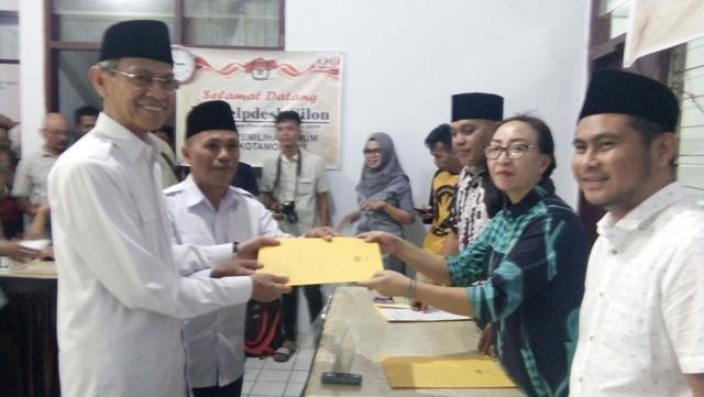 Dukungan Untuk Pasangan Jainuddin-Suharjo Sementara Berjumlah 5.878