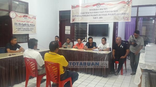 KPU Kotamobagu Temukan 1.225 Pendukung Jainuddin-Suharjo Tidak Masuk DPT