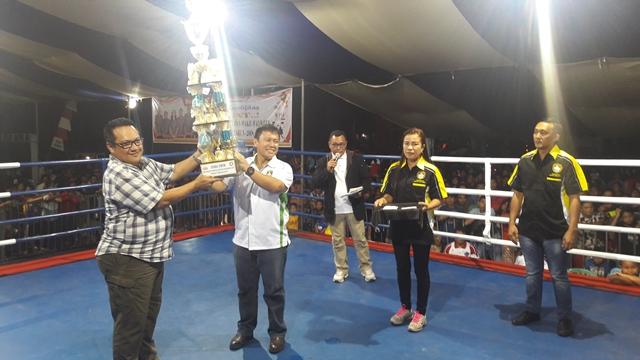 Sario Boxing Camp Juara Umum Piala Kapolres Bolmong