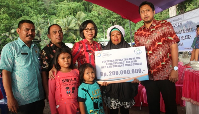 Pemkab Bolmong Asuransikan 1.858 Nelayan
