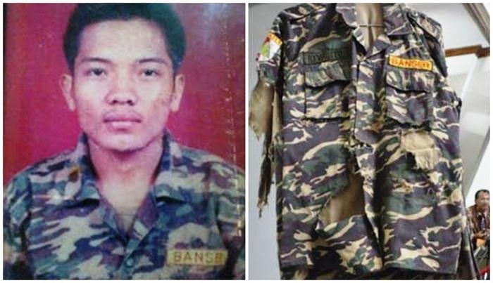 MengenangRiyanto, Anggota Banser Yang Tewas Memeluk Bom di Malam Natal