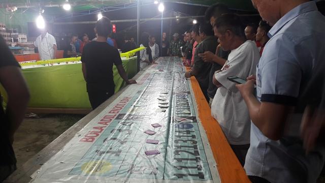 Pasar Malam di Sinindian Diduga Jadi Ajang Perjudian