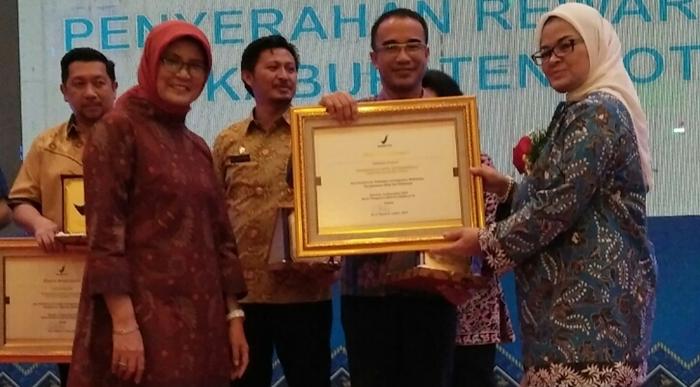 Pemkot Kotamobagu Raih Penghargaan dari BPOM RI