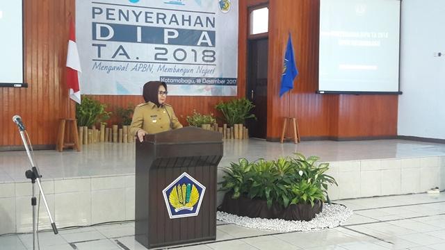 2018, Dana Desa Untuk Kota Kotamobagu Naik Menjadi 17 Miliar Lebih