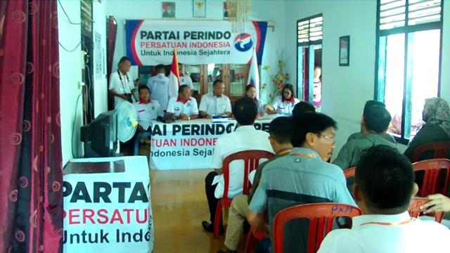 Perindo Bolmong Optimis Jadi Peserta Pemilu 2019