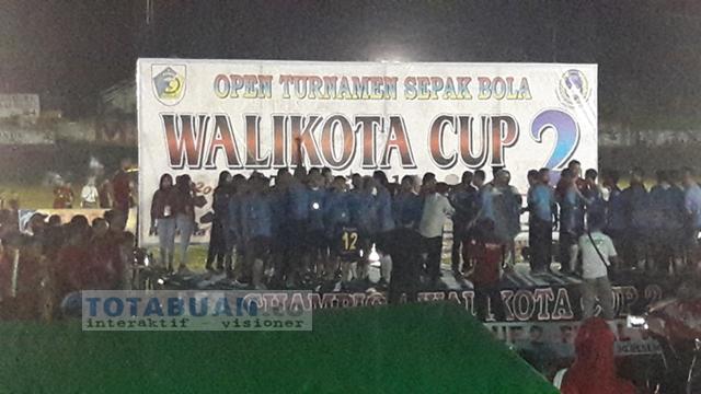 Tatong Bara Berharap Akan Membuka Lagi Walikota Cup Tiga Tahun Depan