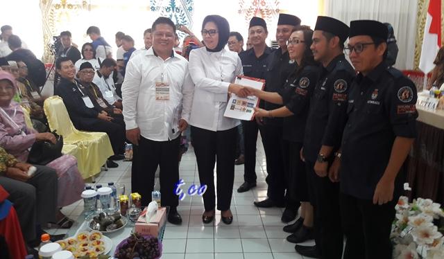 Pasangan Tatong Bara-Nayodo Kurniawan Terkendala Tandatangan Ketua PAN Kotamobagu