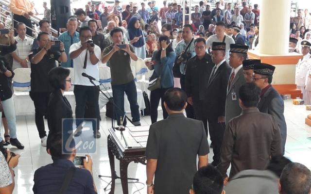 Bupati Bolmong Lantik Ratusan Pejabat. 50 Lainnya Non Job