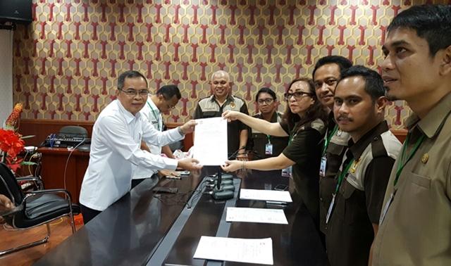 KPU Kotamobagu Teken Kontrak dengan IDI, Himpsy dan BNN