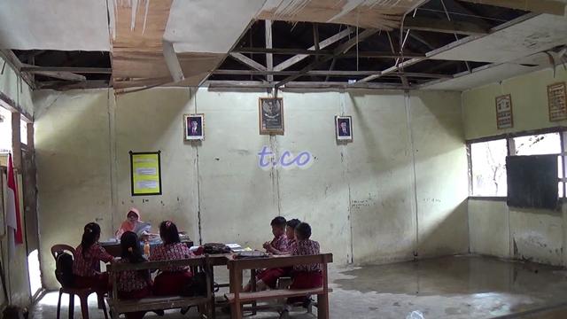 Kondisi SDN Negeri Sauk Bolmong Memprihatinkan