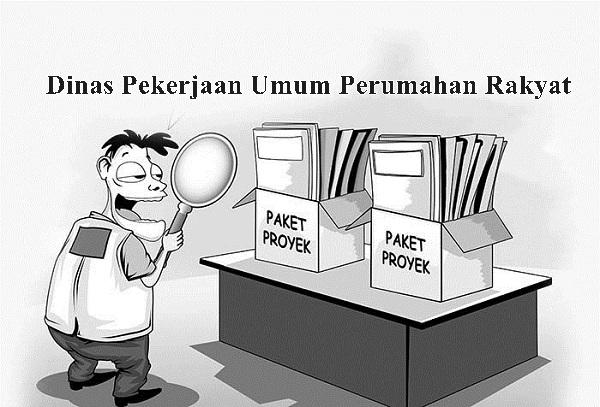 Dinas Pekerjaan Umum Perumahan Rakyat Lelang Tiga Paket Proyek