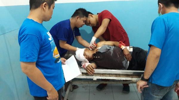 Tim Opsnal Polres Bolmong Bekuk Pelaku Pencurian dan Pembacokan Tukang Ojek