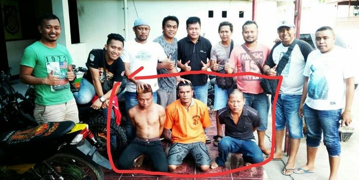Reskrim Polres Bolmong Tangkap Sindikat Curanmor. Delapan Unit Motor Diamankan