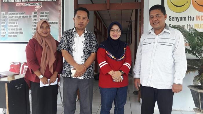 PUSPAGA Kotamobagu Dapat Kunjungan Komisi II DPRD Kabupaten Gorontalo