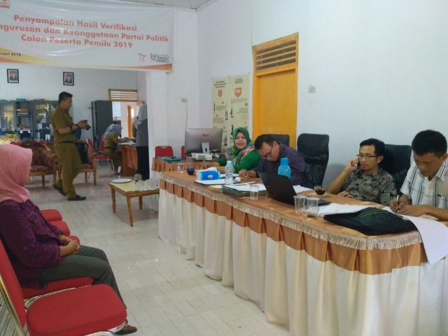KPU Bolmong Tetapkan PPK di 15 Kecamatan