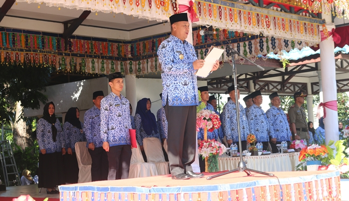 Pjs Walikota Kotamobagu Pimpin Apel Korpri Perdana