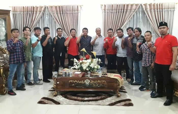 KBM dan GMNI Silahturahmi Pjs Walikota Kotamobagu Sampaikan Beberapa Agenda