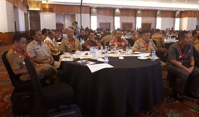 Pjs Walikota Kotamobagu Hadiri Rakornas Pilkada Serentak