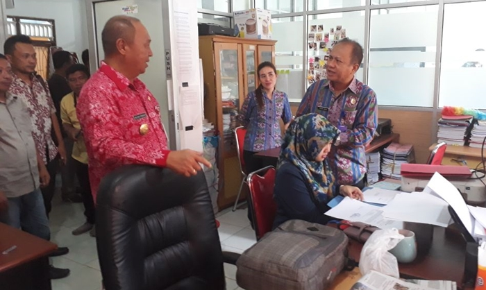 Pjs Walikota Kotamobagu Temukan Para Pimpinan SKPD Tugas Luar Diam-Diam