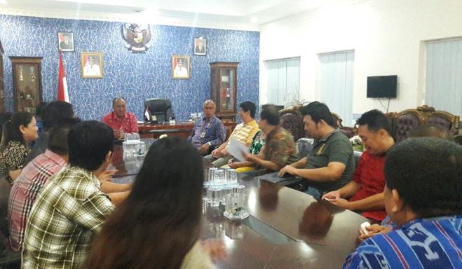 Umat Tri Dharma Kotamobagu Bertemu Pjs Walikota Bahas Perayaan Cap Go Meh