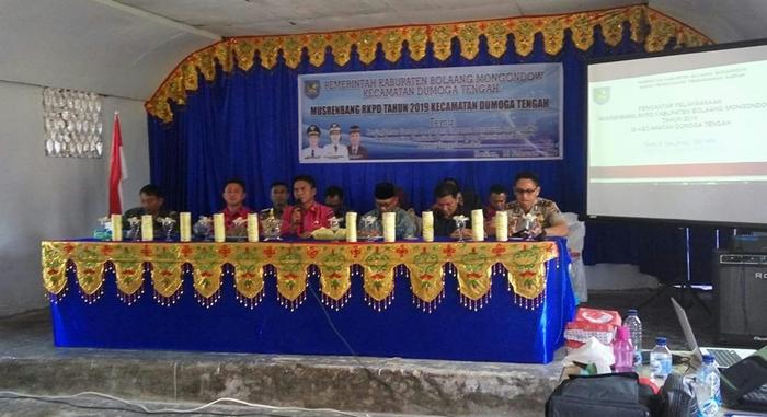 Pemkab Bolmong Mulai Serap Aspirasi Melalui Musrenbang Kecamatan